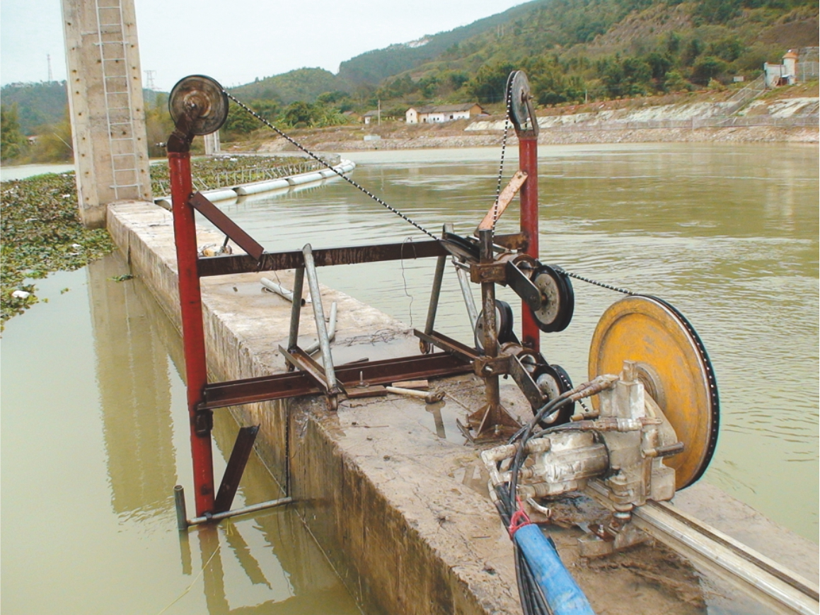 青海水下混凝土切割,广东兄长弟久专业提供水下桥梁桥墩切割