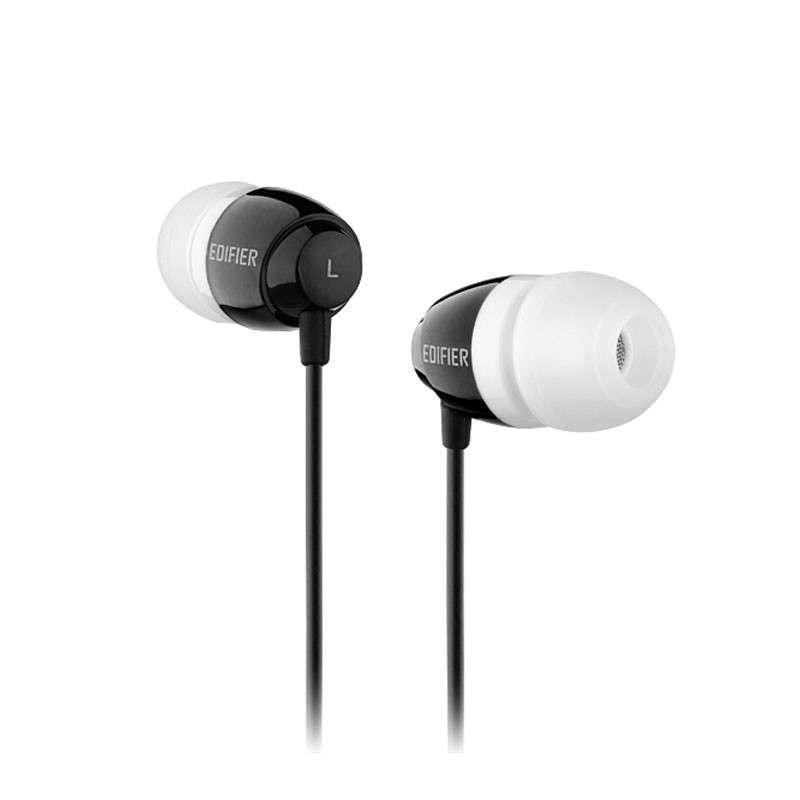 漫步者H210时尚入耳式耳机重低音电脑手机mp3耳塞