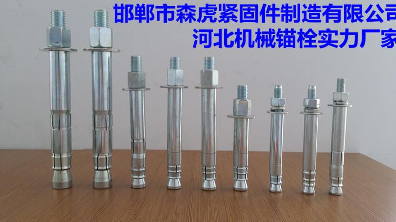 森虎后扩底锚栓森虎机械锚栓扩底型锚栓机械锚栓ISO认证企业