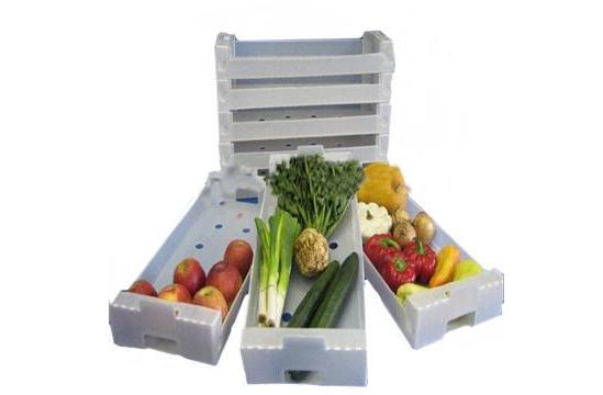 水果包装箱厂家——优惠的中空板水果箱淄博厂商直销