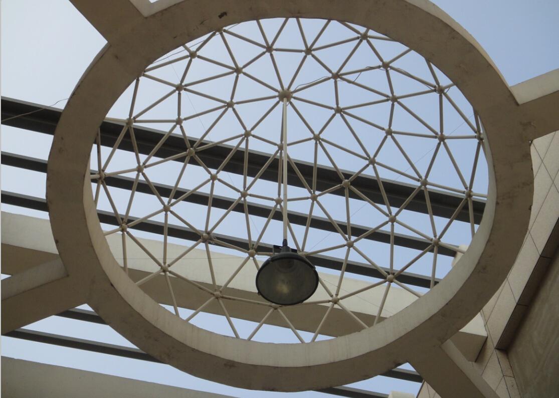 球形网架必选金基钢结构工程 青岛球形网架