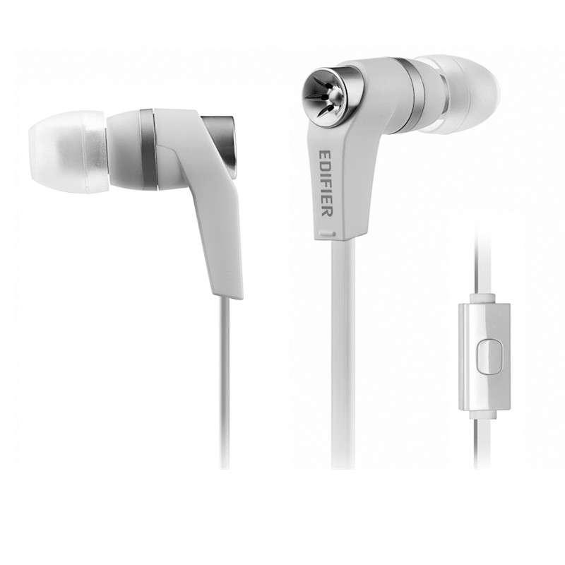 漫步者H275P耳机入耳式手机电脑耳机带线控麦克风面条
