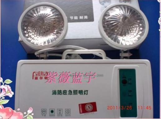 应急照明灯 LED消防双头应急灯供应