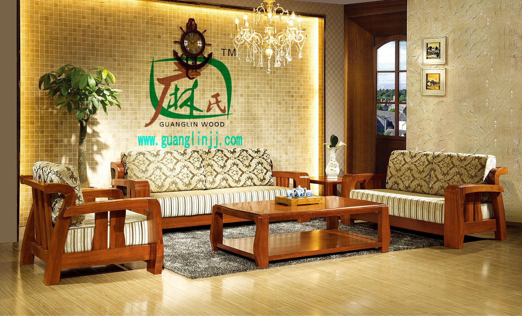 北京实木沙发专业供应-实木沙发定做