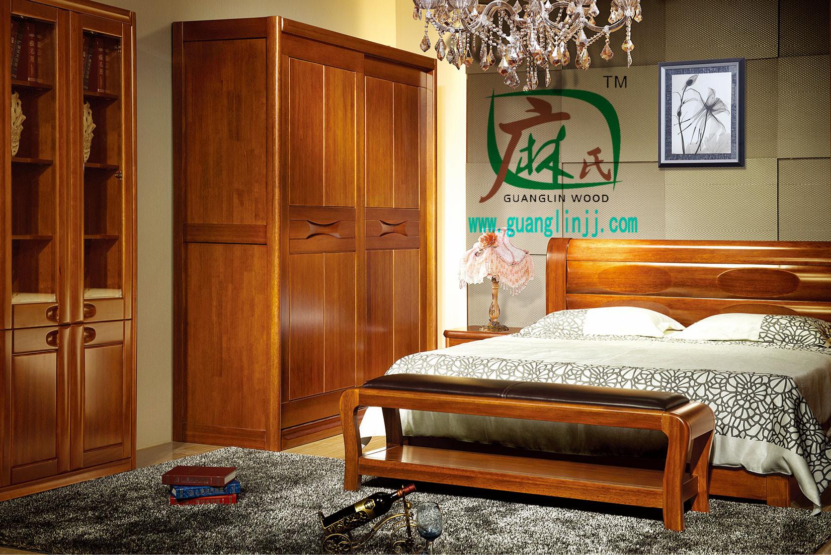 具有良好口碑的实木床经销商 实木床定制