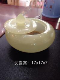 天然玉石果盘 玉器工艺品 云浮石材加工制品