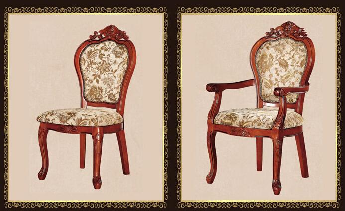 南宁酒店餐桌椅 实木雕花餐厅椅批发