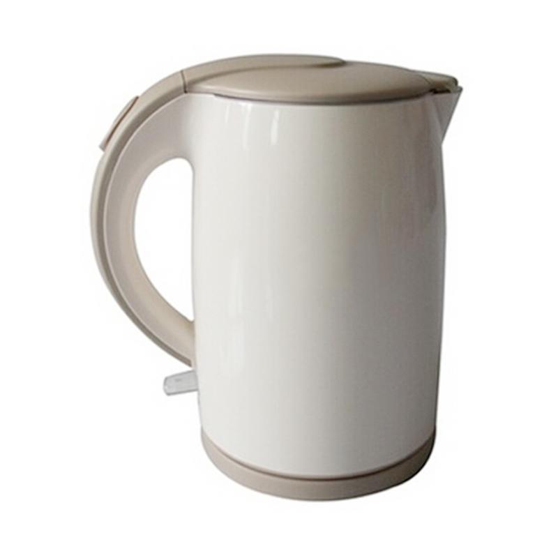 美的电水壶H415E2J不锈钢电热水壶防烫磨砂手把