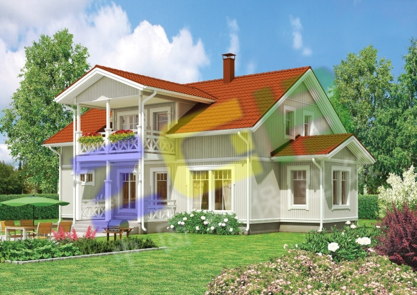 轻型木结构别墅-258.com企业服务平台