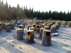 哪种防腐木垃圾桶才算是好防腐木垃圾桶:防腐木垃圾桶生产厂家