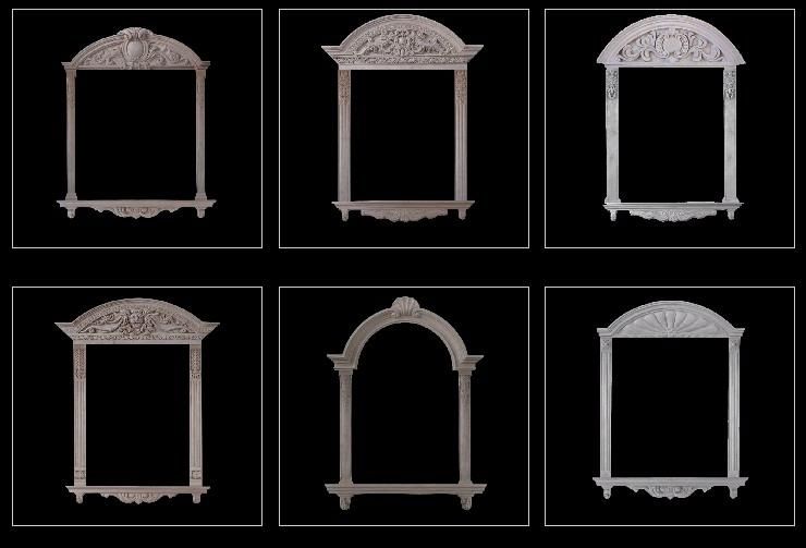 南宁GRC装饰构件厂生产***GRC门窗套