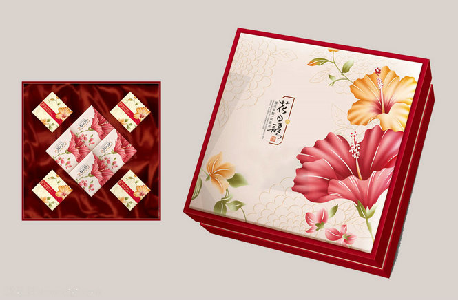 精美月饼礼盒款式新颖!武汉玉麒麟包装提供