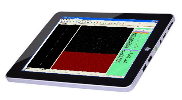 厦门齐全触摸屏智能便携式涡流检测仪供应——涡流检测仪探伤仪