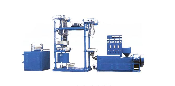 供应 铝型材pvc热收缩膜吹膜机