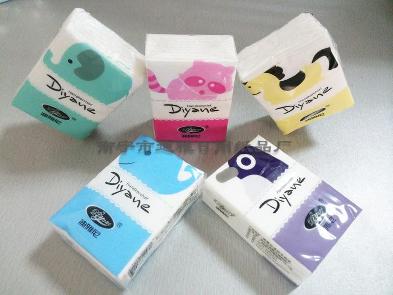 南宁迪雅尼迷你手帕纸 便携带手帕纸厂家批发