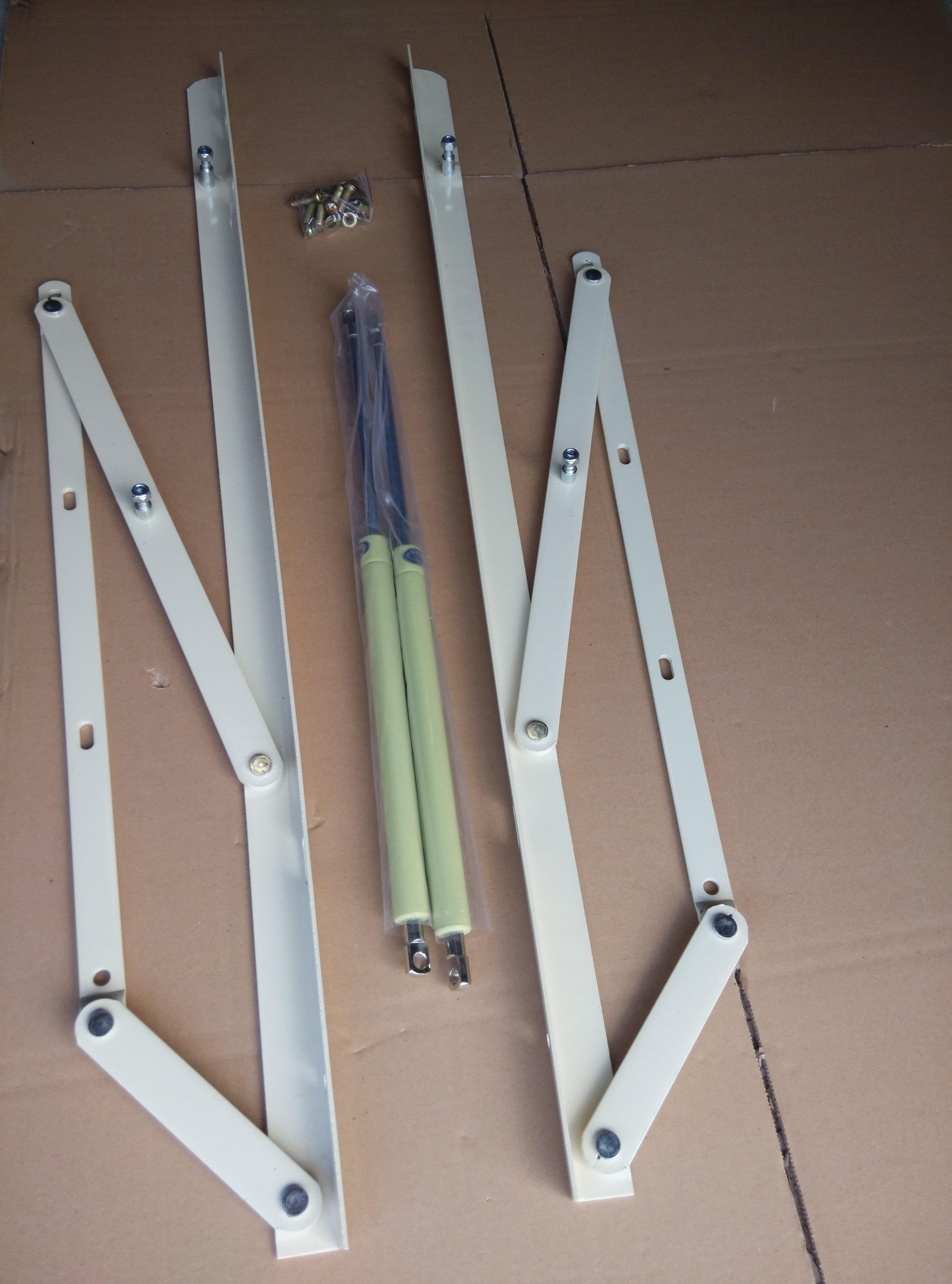 厚三孔床角码 广东可靠的1米床用液压杆供应商是哪家