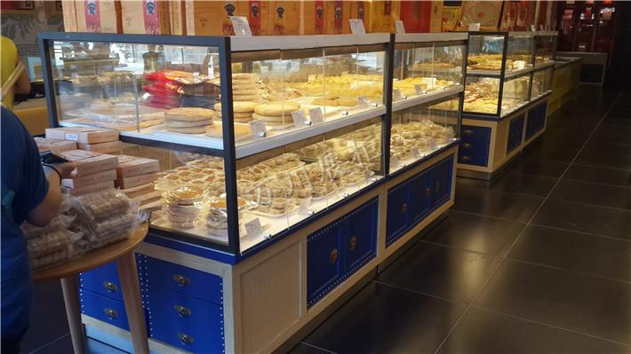 有创意的四川中岛柜厂家 云南蛋糕店中岛柜