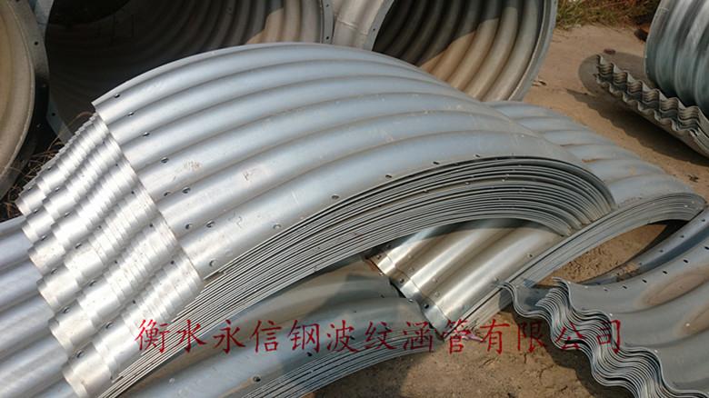 钢波纹管的特点及设计