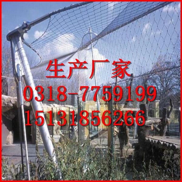 SUS304不锈钢绳编织网钢丝绳装饰网