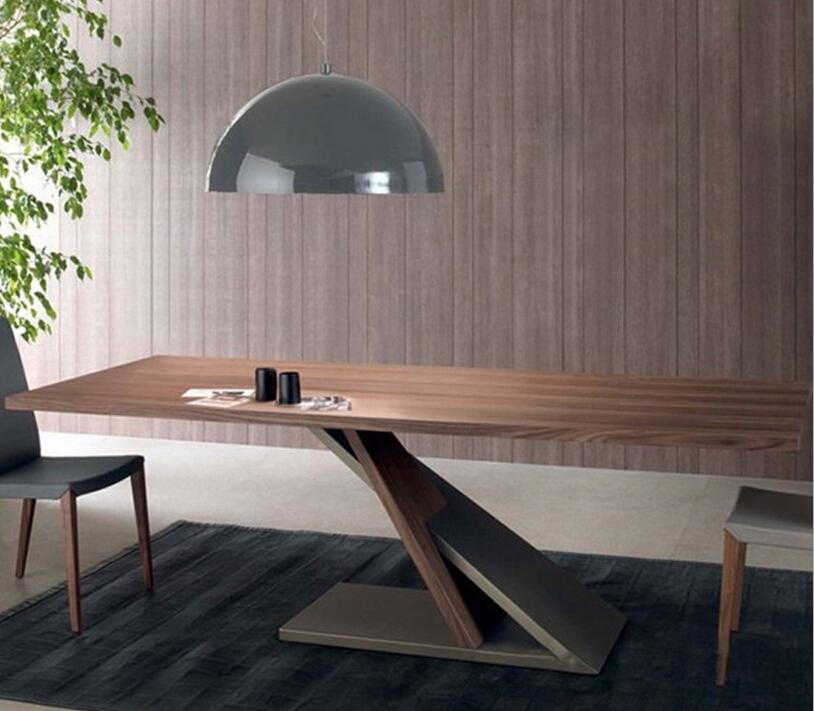 铁艺实木餐桌 餐厅桌-258.com企业服务平台