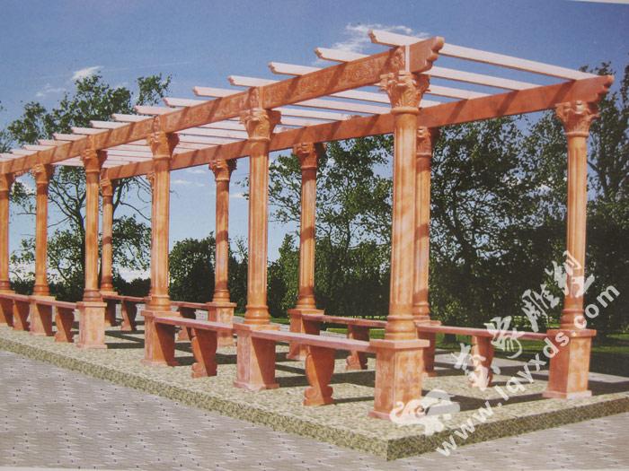 精美的凉亭花架-艺象雕塑提供的凉亭花架哪里好