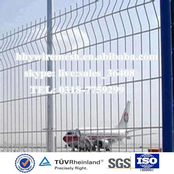 机场专用三角折弯型防护网,高质量,高品质,华海源!
