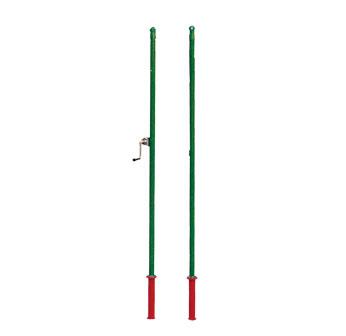 插地式羽毛球柱