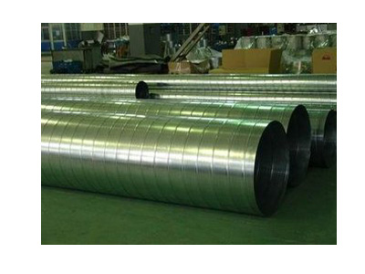 武威通风管道-耐用的螺旋风管盛蓝共板法兰通风管道供应