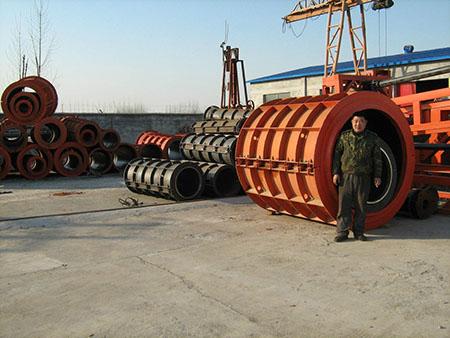 水泥甩管机械设备