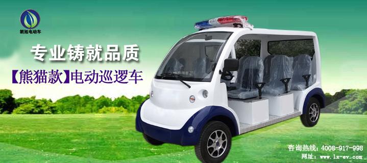 电动警用巡逻车