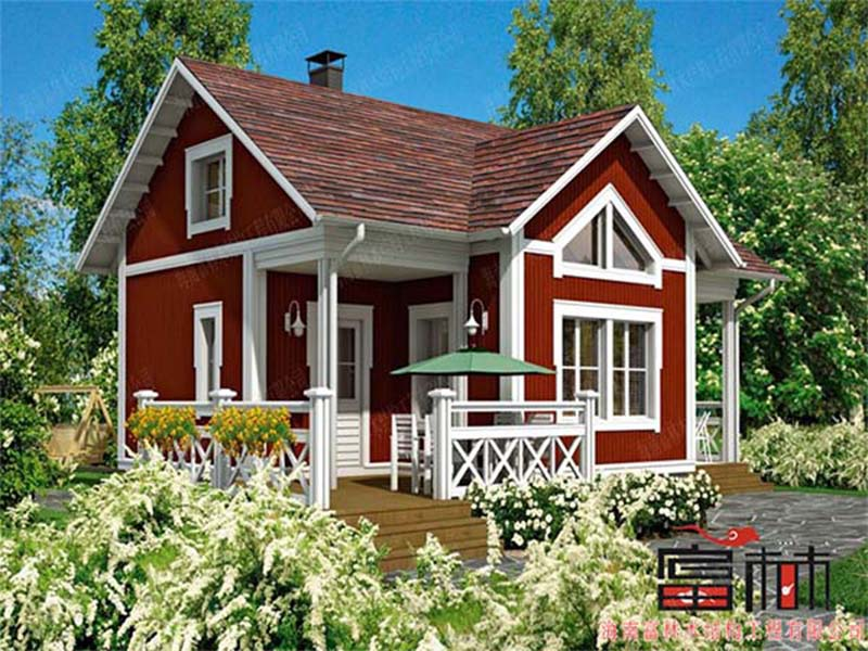欧式风格木屋