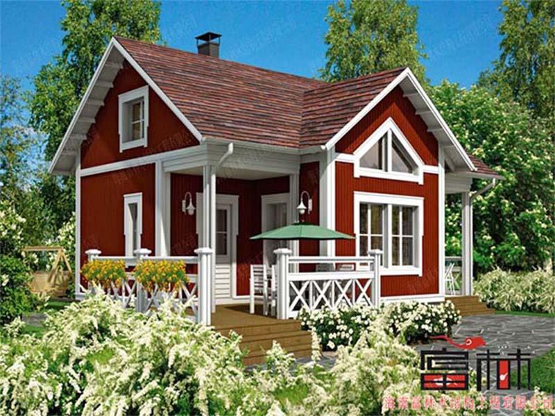 欧式风格木屋-海南富林木结构工程有限公司-书生商务