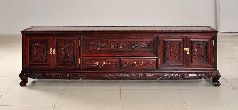 近期销售比较火的海南黑酸枝家具_海口黑酸枝家具公司