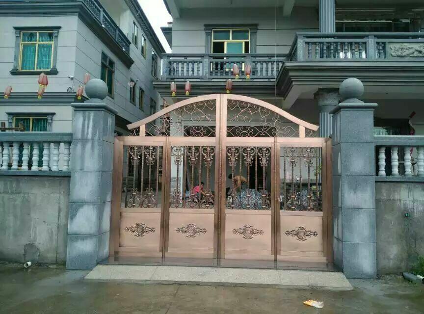 湖州别墅大门,福建欧式不锈钢门