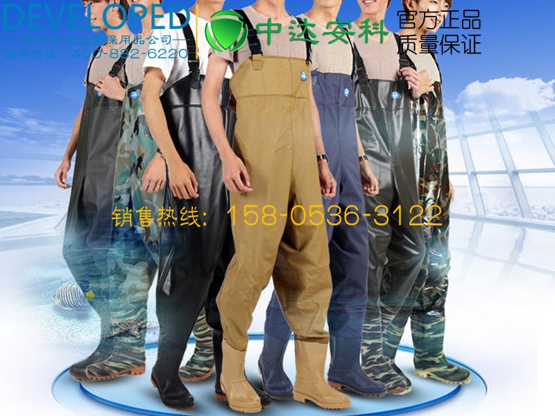 青州下水裤、连体裤、防水钓鱼裤户外涉水裤全身雨衣雨裤