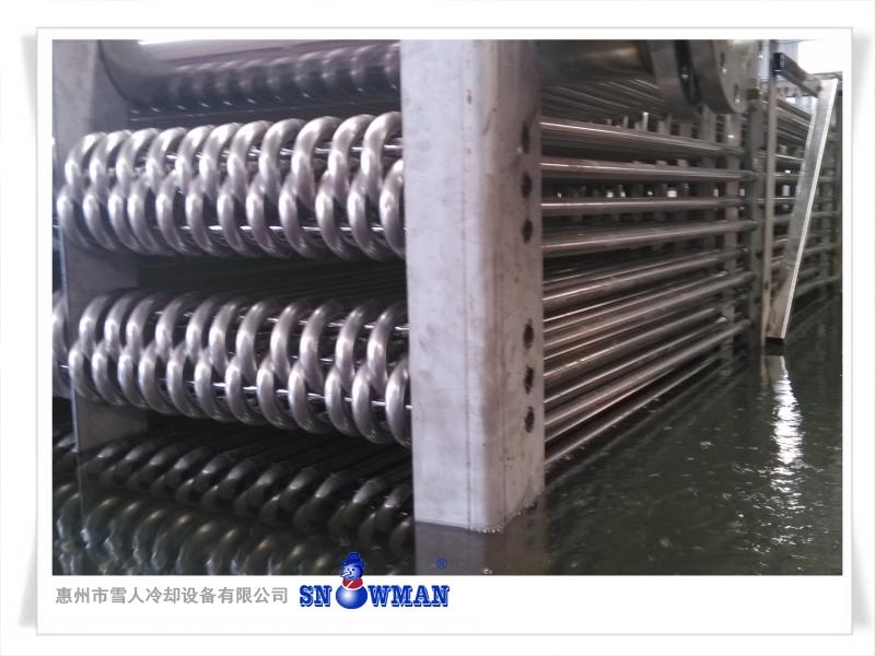 闭式冷却塔换热器盘管