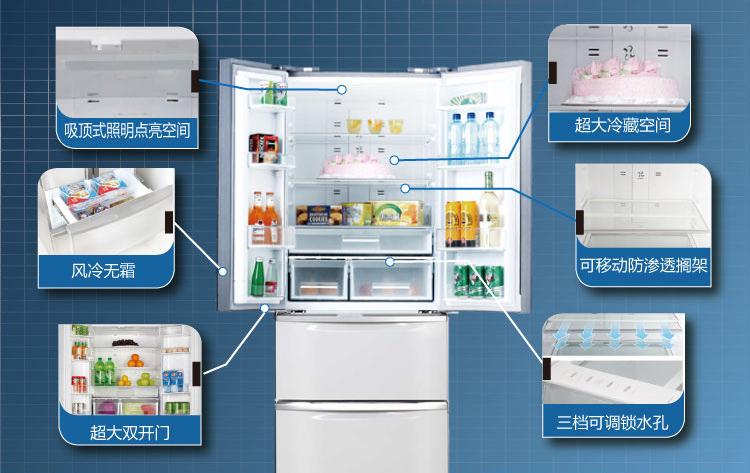美菱冰箱356wpt温度怎么调节.图片