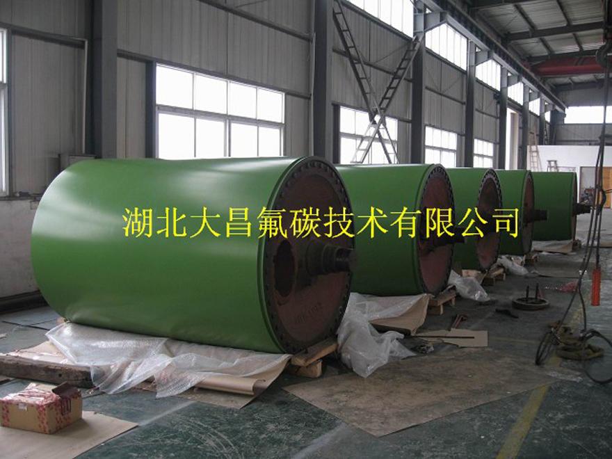造纸厂大型烘缸喷涂加工