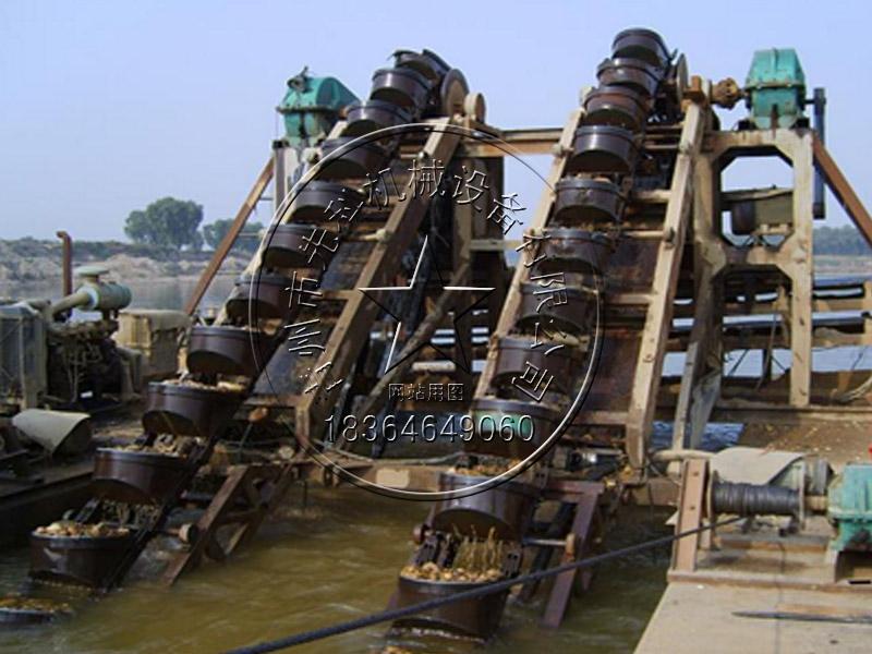 双排斗挖沙船—青州先科机械
