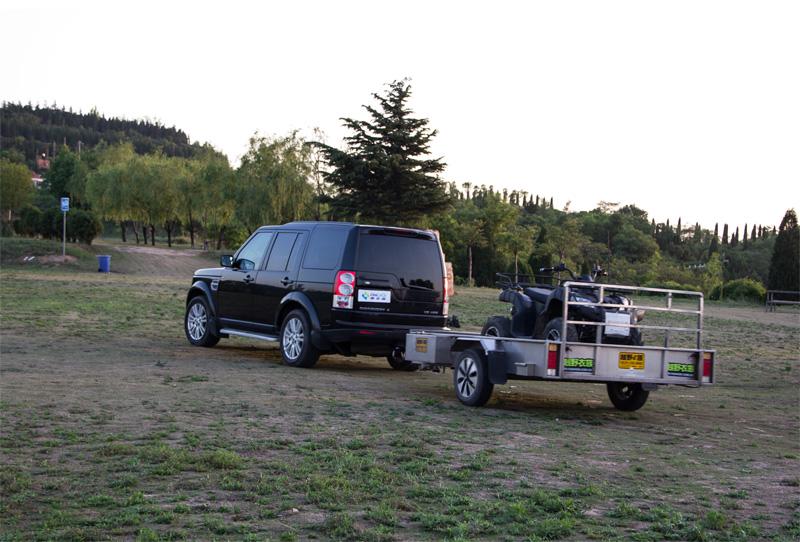 丰田越野车后置多用途拖车方口
