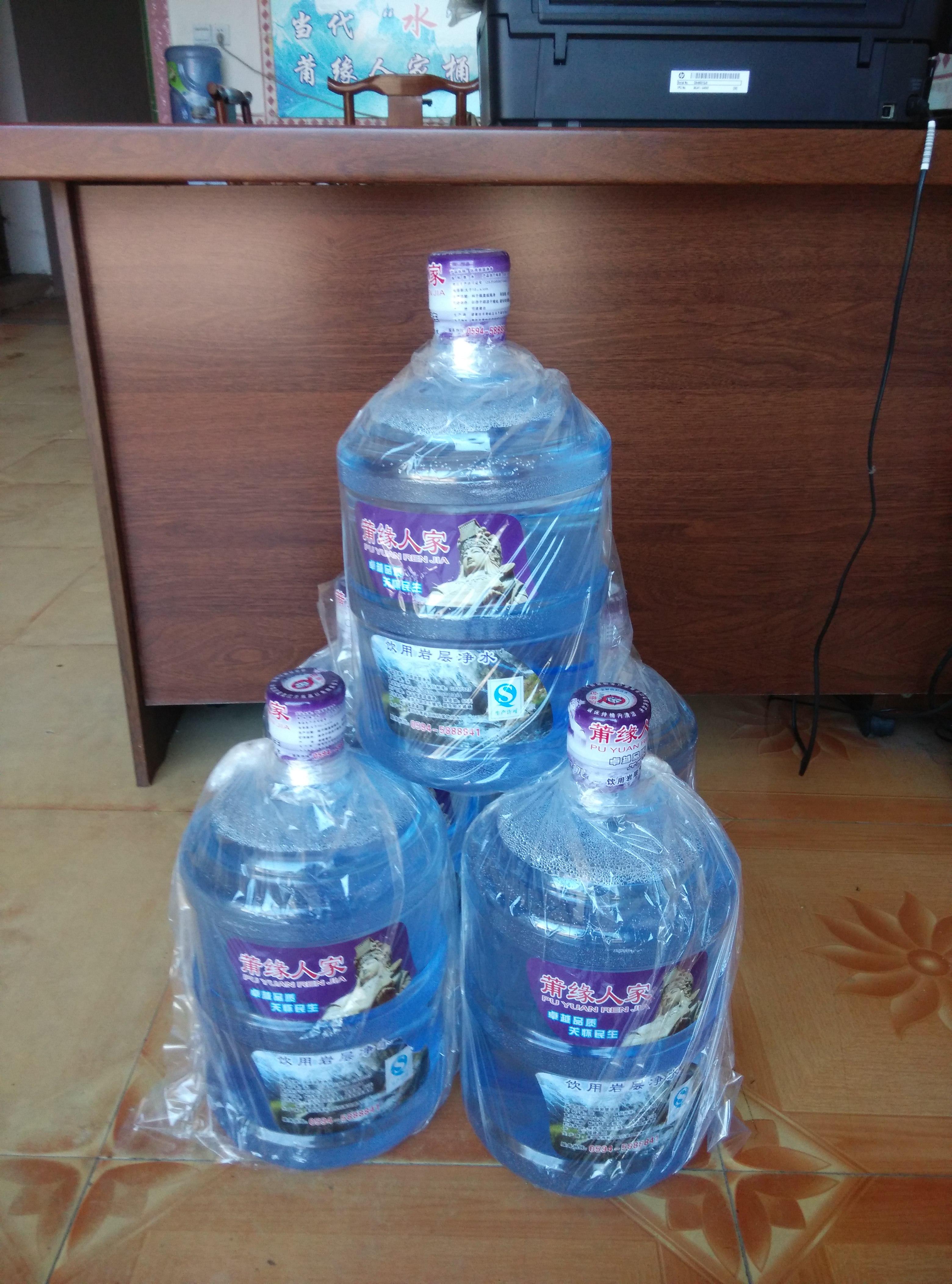 福建銷量好的莆田桶裝水供應,荔城送水公司