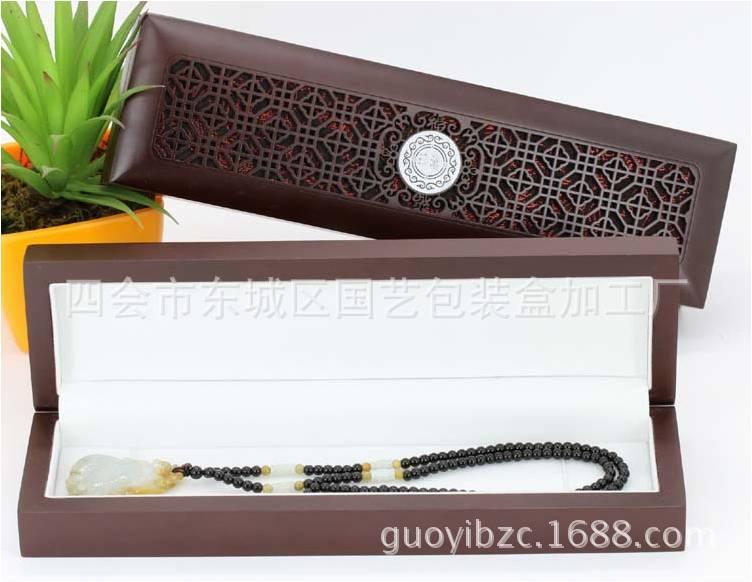 国艺首饰包装盒加工厂供应超值的喷漆雕刻镂空盒,木质首饰盒戒指盒