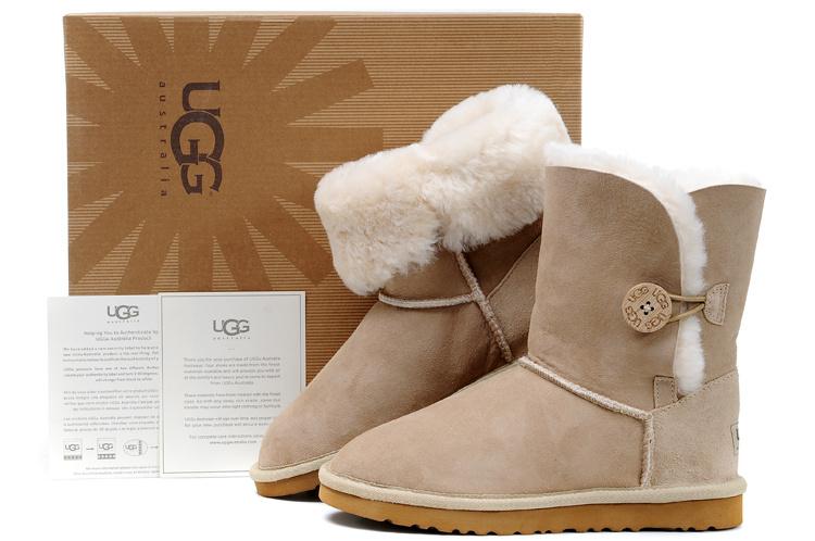 澳洲正品UGG羊皮毛一体雪地靴棉鞋厂家批发代购代理