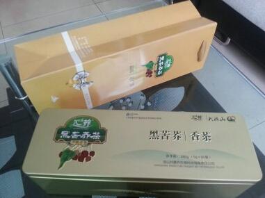 汇荞黑苦荞香茶280g