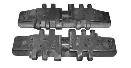 辽宁质量可靠的履带板供应 江苏起重机履带板
