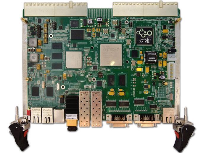 C6678开发板图像处理平台