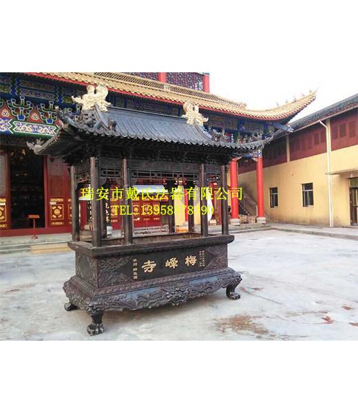 温州特色寺庙铜香炉【供销】,专业的防风香炉