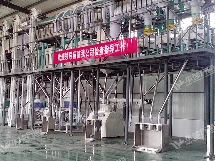 ***30吨玉米制糁、制粉成套设备