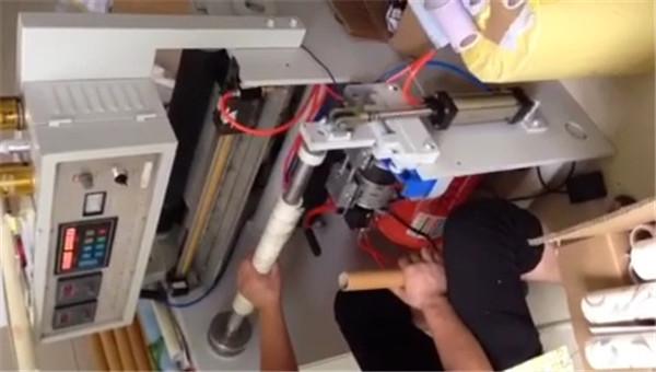 全自动高速盘纸复卷分切机