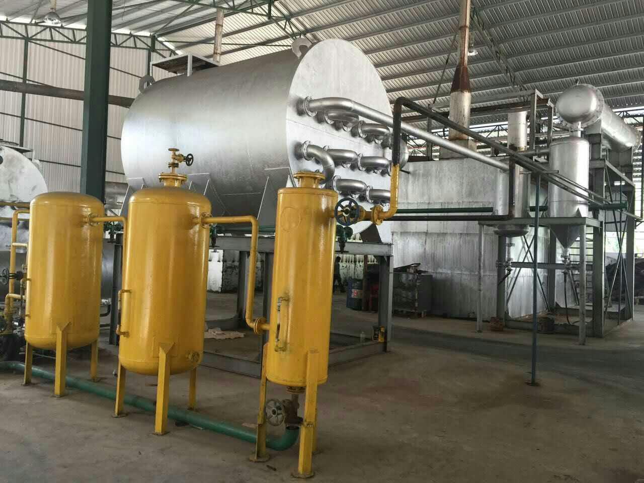 DDA黑油蒸馏得基础油设备